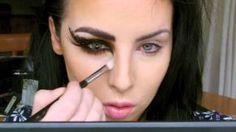 Crazy Cat makeup for Halloween! Totally guna do this!