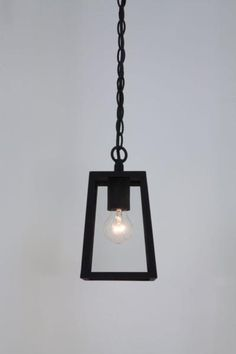 Calvi Black Pendant IP23 with Clear Glass for Ceiling or Wall Outdoor Lighting, @astrolighting 7112 via SparksDirect.co.uk