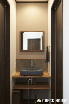 See related links to what you are looking for. Washbasin Design, Washroom, Powder Room, Vanity, Mirror, Interior, House, Furniture, Home Decor