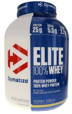 8b5b9bcdf Dymatize Nutrition Elite Whey Protein Powder Gourmet Vanilla 5 Pound   Read  more reviews of the