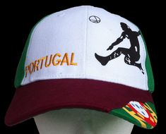 PORTUGAL AZORES LISBON FLAG SPORT SOCCER PLAYER TENNIS HAT CAP
