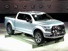 Ford Atlas Concept Hints at 2015 F-150 - 2013 Detroit Auto Show