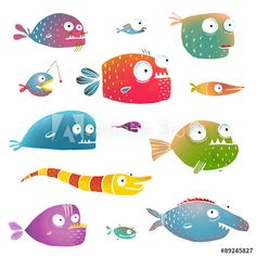 Animals illustrations pinterest illustrators and animal for Fish facts for kids