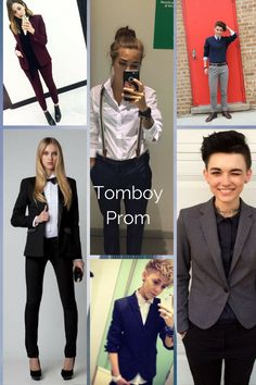 Tomboy Prom fashion ideas with style, short hair, long hair suits and great looks.  It's all about  Tomboy Prom fashion Tomboy Prom style Tomboy Prom short hair Tomboy Prom long hair Tomboy Prom suits Tomboy Prom looks