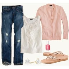 perfect everyday outfit. switch out black pants for the jeans and i've got a great work look.