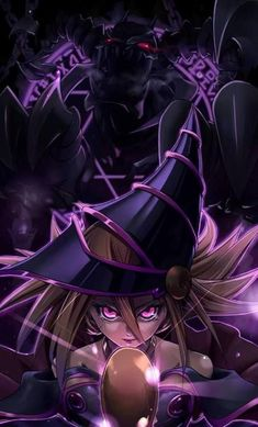 Dark Magician Girl. Yugioh  Credits to the artist