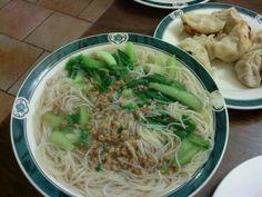 Sopa de fideos de arroz