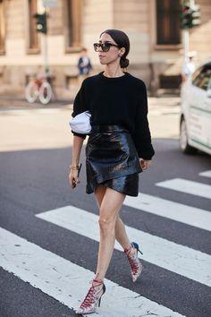 La falda pareo: wrap skirt. La falda que vas a querer en 2018