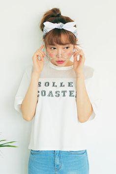 Today's Hot Pick :ロゴ入りメッシュ切替半袖Tシャツ http://fashionstylep.com/SFSELFAA0024971/stylenandajp/out