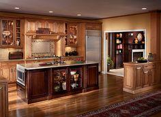 Inspirational Kraftmaid Cherry Peppercorn Cabinets