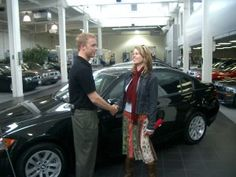 This mystery shopper is evaluating a car sales person.  Watch the video.