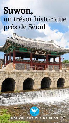 Envie d'une excursion près de Séoul? Suwon est l'endroit idéal et vous découvrirez des trésors historiques classés UNESCO. #capcorée #coreedusud #voyage #suwon #UNESCO