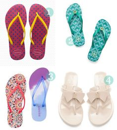 Flip flops for summer 2013