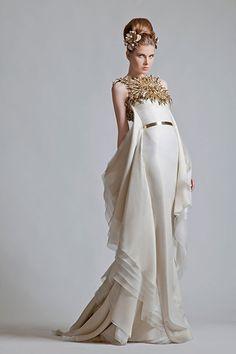 Krikor Jabotian Couture wedding 2014 | february 17 2013 by heramu category bridal gown wedding dresses