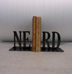 Nerd bookends