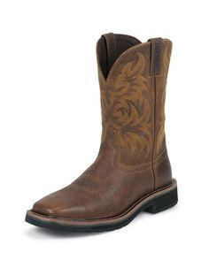 Men's Tan Tail Boot - WK4822