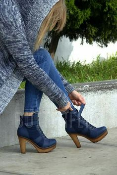 So cute with skinny Denim Ankle Boots, High Heel Boots, Heeled Boots, Bootie Boots, High Heels, Shoes Heels, Crazy Shoes, Me Too Shoes, Womens Denim Overalls