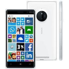 """Nokia Lumia 830 Branco com Tela 5"""" 3G/4g """"Promoção"""" 34%OFF - R$ 809,00 ou 10x R$ 89,90"""