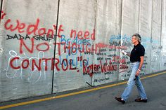 """""""We don't need no thought control"""" - Roger Waters, Pink Floyd The Wall Pink Floyd, Roger Waters The Wall, Brick In The Wall, Anger Issues, Music Humor, Rock Legends, Rock Music, Song Lyrics, Rock N Roll"""