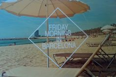 Friday morning in Barcelona card