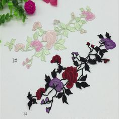 2017 Of Embroidered Patches For Sewing Size Is 26 Cm * 10.5 Cm Flower Applique Handmade Clothing Patches Iron On Sewing Accessories Zakka From Chinfun2010, $2.02 | Dhgate.Com