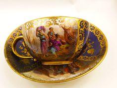 Antique meissen cup & Saucer