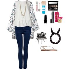 artsy back to school look for teens-created by me