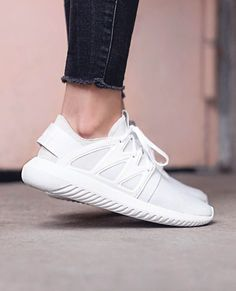 Tubular Viral · These white adidas are awesome and the look so comfy! Pair  with a cute romper 1fad23867