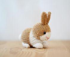 Ravelry: Dutch Rabbits pattern by Rachel Borello Carroll Crochet Yarn, Crochet Hooks, Easter Crochet, Large Plastic Easter Eggs, Double Pointed Knitting Needles, Baby Scarf, Christmas Knitting Patterns, Dutch Rabbits, How To Start Knitting