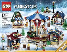 LEGO Winter Village Market