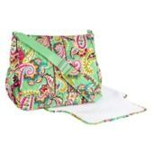 This Vera Bradley messenger bag is perfect for spring and summer babies!