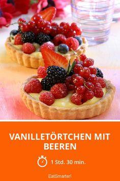 Eat Smarter, Cheesecake, Desserts, Food, Vanilla Cream, Cold Cream, Pies, Kuchen, Berries