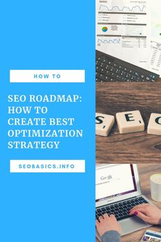 SEO Roadmap: How to Create Best Optimization Strategy with a report and a written strategy for improving search engine optimization of the website. Seo Marketing, Internet Marketing, Affiliate Marketing, Online Marketing, Digital Marketing, Seo Basics, Marketing Consultant, Business Entrepreneur, Seo Services