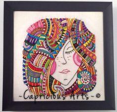 Вышивка Capricious Arts (подборка) / Слабый пол!