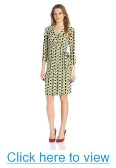 Anne Klein Women's Graphic Print Wrap Dress #Anne #Klein #Womens #Graphic #Print #Wrap #Dress