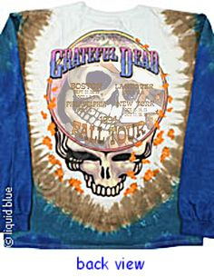 Grateful Dead long sleeve shirts.  I haven't had any in my closet for far too long!