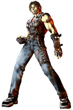 Yugo from Bloody Roar 3