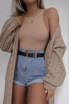 FASHION INFLUX STONE CABLE KNIT MIDAXI CARDIGAN