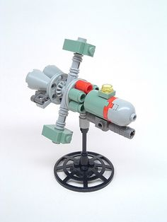 Vaguely Soviet Space Warship on Flickr - Photo Sharing!