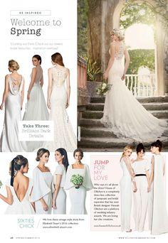 Elizabeth Stuart 2016 Collection- Belle Bridal Spring/Summer 2016 #elizabethstuart
