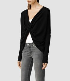 The AllSaints Cropped Reversible Itat