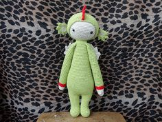 DIRK the dragon made by thirteendiana / crochet pattern by lalylala