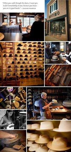 f3e16f78c43 Optimo Hat Shop in Chicago - need one for my collection Chapelaria