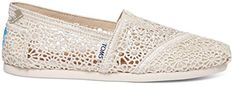 New TOMS Women's 10007858 Natural Moroccan Crochet Alpargata Flat online. Find the perfect Trademark Sneakers shoes from top Shoes store. Toms Outfits, Ankle Boots, Shoes Heels Boots, Heeled Boots, Tom Shoes, Cheap Toms Shoes, Toms Shoes Outlet, Toms Sneakers, Sneakers Fashion