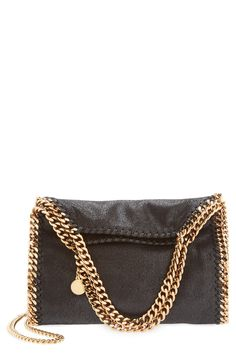 Stella McCartney 'Mini Falabella - Shaggy Deer' Faux Leather Tote