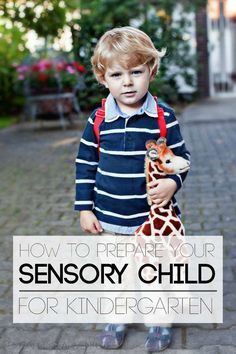 Do you have a sensory child going to kindergarten? These tips are perfect for home or the classroom!