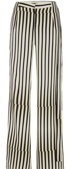 Olivia Palermo's #LFW Pin Picks: Recreate the look from Temperley London SS '15 with this stretch crepe trouser by Peter Som.