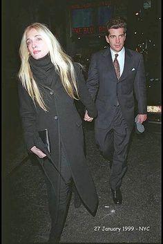 Nobody can wear black like she did...Carolyn Bessette Kennedy