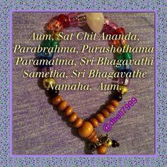 Moola Mantra  Personalized Mala with sacred order of the chakras & Rose Quartz!  Aum