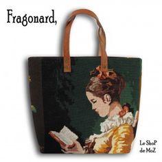 Fragonard Tote, #fragonard #frenchmade #vintage leshopdemoz.com